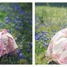 Bluebonnets and babies