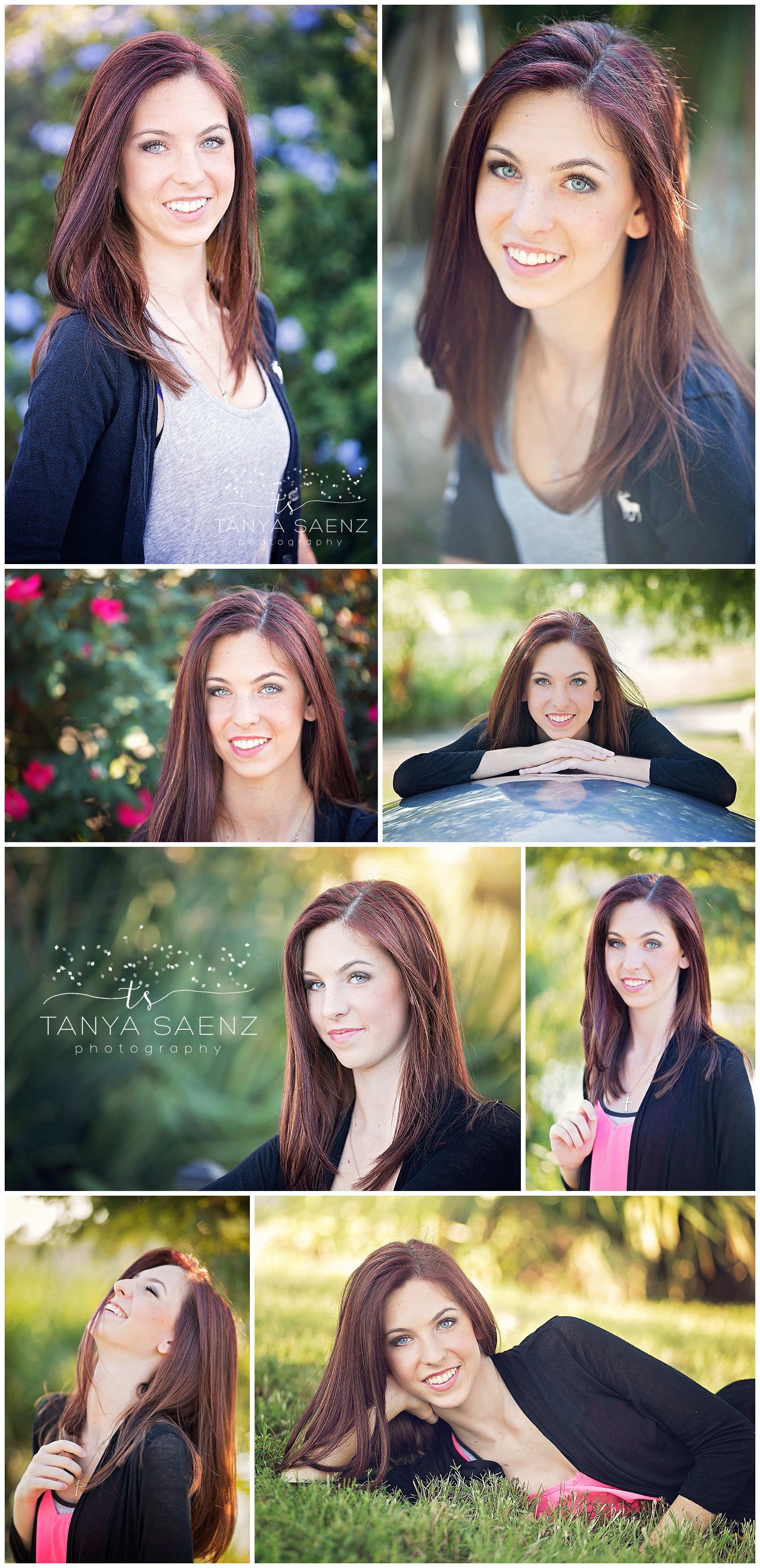Senior Beauty in park in Tomball, TX