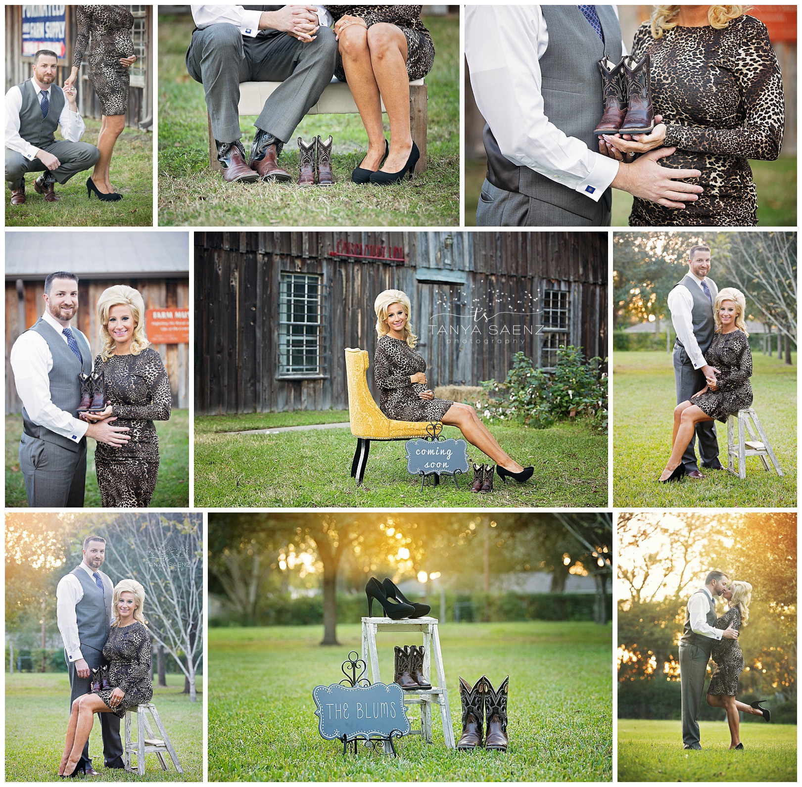 Maternity session in Tomball, TX