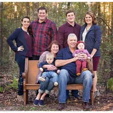 Big family session in Cypress, TX