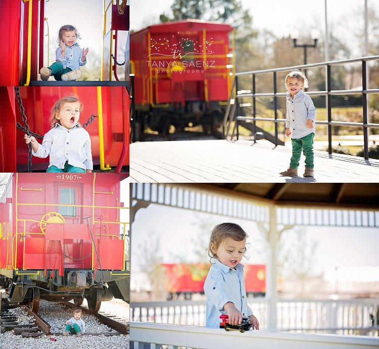 Little Boys & Trains